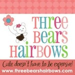Three Bears Hair Bows