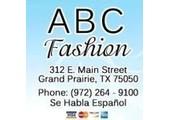 ABC Fashion coupons or promo codes at abcfashion.net