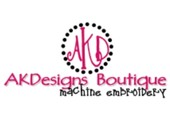 AK Designs Boutique Machine Embroidery coupons or promo codes at akdesignsboutique.com