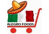alegrofoods.com coupons and promo codes