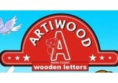 artiwoodletters.com coupons or promo codes