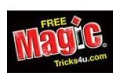 Free Magic Tricks 4 U coupons or promo codes at freemagictricks4u.com