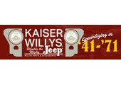 Kaiser-Willys Auto Supply coupons or promo codes at kaiserwillys.com