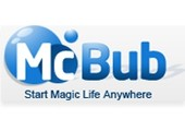 coupons or promo codes at mcbub.com