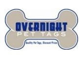 Overnight Pet Tags coupons or promo codes at overnightpettags.com