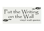 Put The Writing On The Wall coupons or promo codes at putthewritingonthewall.com