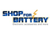 Shop For Battery coupons or promo codes at shopforbattery.com